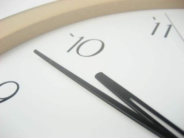 時間確認テクニック